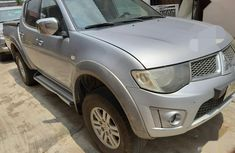 Grey 2013 Mitsubishi L200 pickup / truck automatic at mileage 98,210 for sale