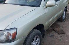 Toyota Highlander 2002 Gold for sale