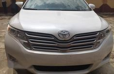 Well maintained white 2010 Toyota Venza automatic for sale in Lagos