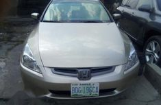 Sell cheap gold 2005 Honda Accord sedan automatic at mileage 5,284