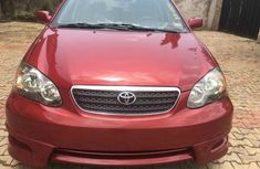 Tokunbo 2004 Toyota Corolla Sport, Red Color