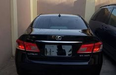 Lexus ES 350 2010 Black for sale