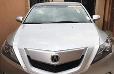 Acura ZDX 2011 Silver for sale
