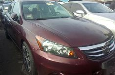 Authentic red 2007 Honda Accord automatic in good condition