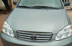 Toyota Corolla 2003 Sedan Silver for sale