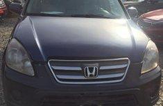 Honda CR-V 2005 Blue color for sale