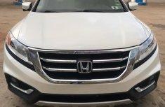 Honda Accord CrossTour 2015 White color for sale
