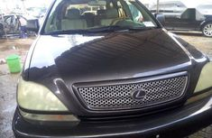 Well maintained blue 2003 Lexus RX for sale at price ₦1,350,000 in Lagos