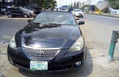 Toyota Solara 2003 Black color for sale
