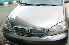 Toyota Corolla 2006 S Gray for sale
