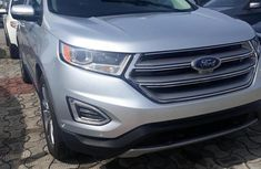 Used grey 2016 Ford Edge automatic for sale