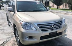 Sell gold 2011 Lexus LX automatic at price ₦16,500,000