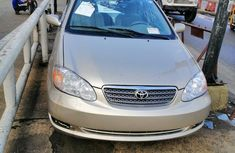 Extremely clean 2006 Toyota Corolla for sale at price ₦1,950,000 in Lagos