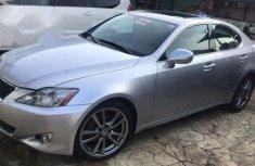 Sell grey 2008 Lexus IS sedan automatic at price ₦2,750,000