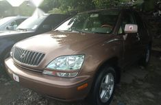 Sell brown 1999 Lexus RX automatic at price ₦2,000,000