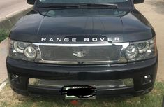 Black 2010 Land Rover Range Rover Sport car at mileage 20,000 at attractive price