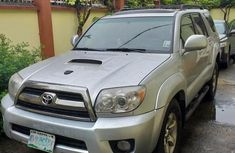 Sell very cheap clean grey 2006 Toyota 4-Runner in Lagos