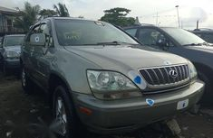 Sell grey 1999 Lexus RX automatic in Lagos at cheap price