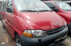 Sell red 2000 Toyota HiAce van  automatic in Lagos