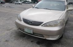 Authentic gold 2005 Toyota Camry automatic in good condition