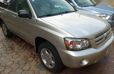 Toyota Highlander Limited V6 2005 Silver for sale