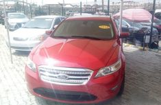 Ford Taurus 2010 SEL Red for sale