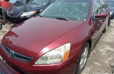 Authentic red 2005 Honda Accord automatic in good condition