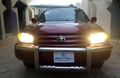 Certified red 2005 Toyota Highlander automatic in good condition