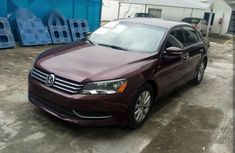 Sell cheap red 2014 Volkswagen Passat automatic