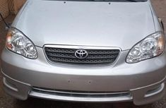 Selling grey 2005 Toyota Corolla automatic at price ₦1,470,000