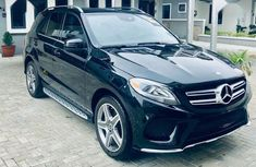 Sell used black 2017 Mercedes-Benz GLE suv  automatic