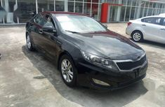 Used black 2012 Kia Optima car automatic at attractive price