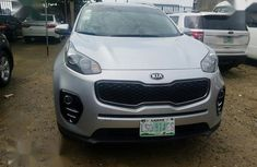 Best priced used grey  2017 Kia Sportage automatic in Ikeja