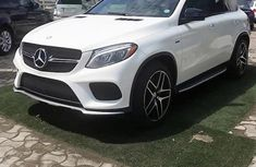Need to sell cheap used white 2016 Mercedes-Benz GLE automatic