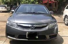 Honda Civic 2010 LX-S Sedan Gray for sale
