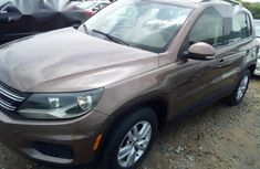 Clean direct used brown 2015 Volkswagen Tiguan automatic