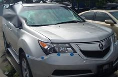 Used grey 2010 Acura MDX automatic for sale at price ₦5,000,000