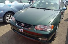 Need to sell cheap used 2002 Toyota Corolla sedan in Lagos