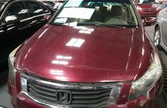 Red 2008 Honda Accord automatic at mileage 100,000 for sale