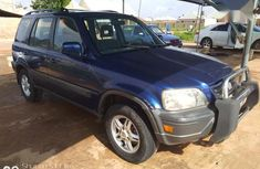 Used blue 1998 Honda CR-V suv  automatic for sale