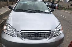 Well maintained grey 2007 Toyota Corolla for sale at price ₦2,100,000 in Lagos