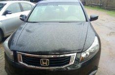 Need to sell black 2009 Honda Accord sedan at price ₦1,200,000
