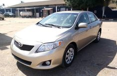 Well maintained gold 2009 Toyota Corolla automatic for sale in Oyo