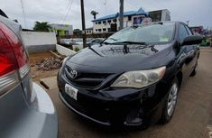 Used black 2003 Toyota Corolla automatic for sale in Akure