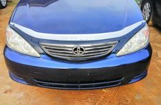Well maintained blue 2004 Toyota Camry sedan for sale in Lagos