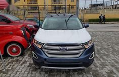 Sell blue 2018 Ford Edge automatic in Lagos