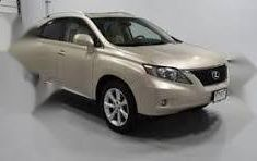 Selling beige 2010 Lexus RX suv automatic in Lagos