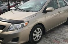 Well maintained 2010 Toyota Corolla sedan for sale at price ₦2,850,000