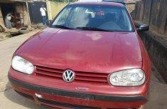 Volkswagen Golf 2003 Red for sale