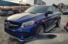 Best priced used 2017 Mercedes-Benz GLE sedan automatic in Lagos